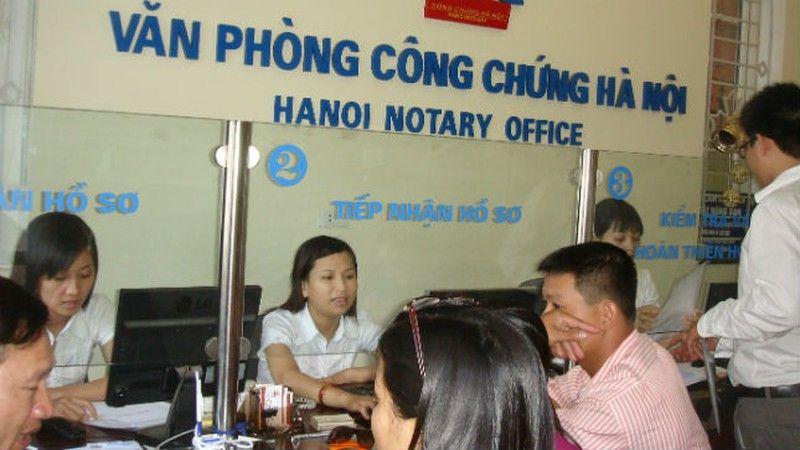 Văn phòng công chứng Hà Nội
