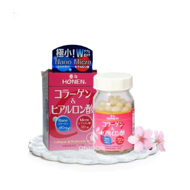 Viên uống Collagen Honen NaNo