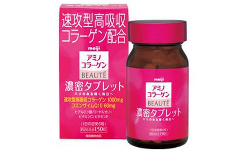 Viên uống Meiji The Collagen Beaute