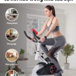 Ưu nhược điểm của xe đạp tập thể dục tại nhà