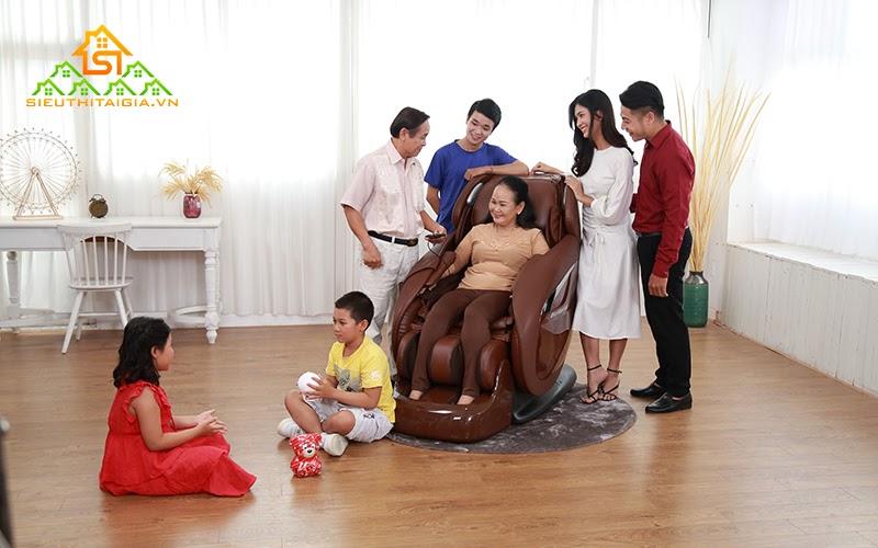 Các tính năng trên ghế mát xa nhằm mục đích giúp ích cho cuộc sống và sức khỏe con người
