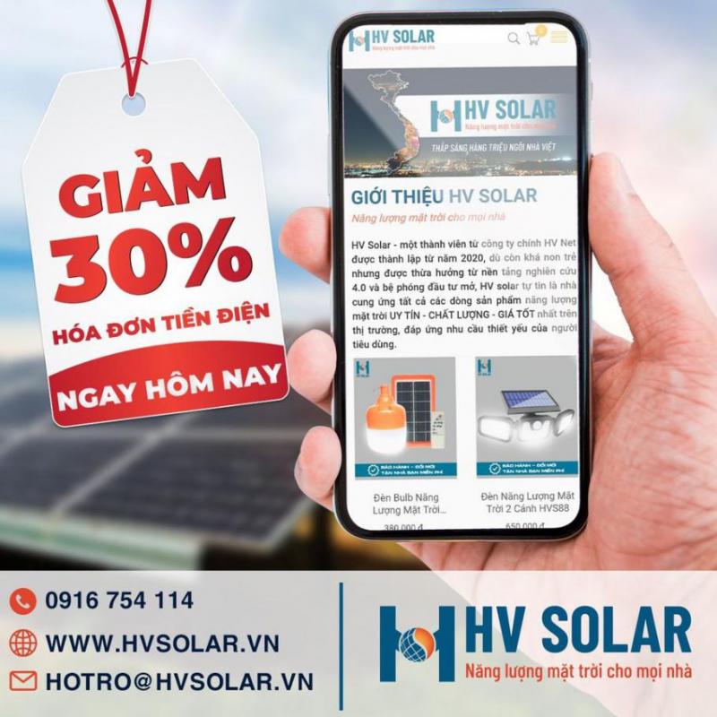 Đèn năng lượng mặt trời HV Solar
