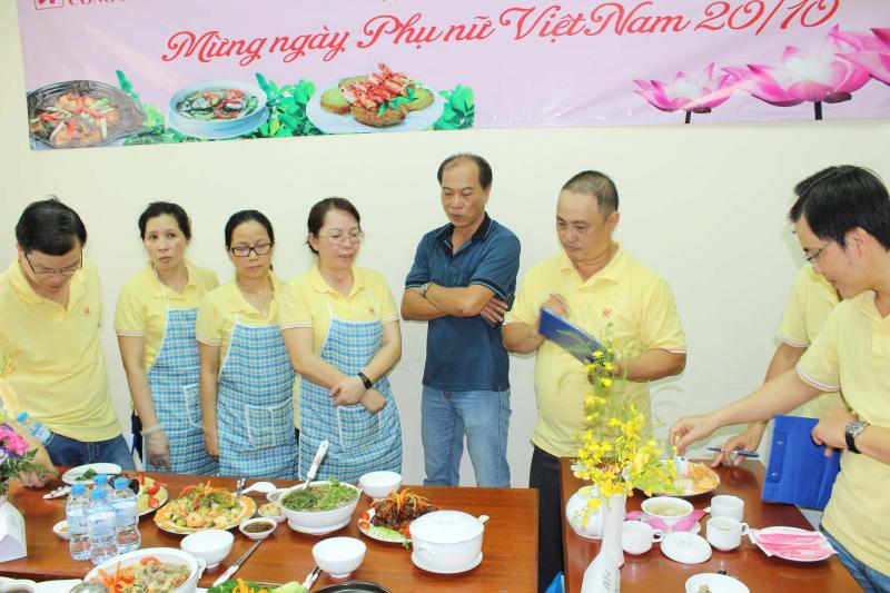 Hội thi nấu ăn ngon phường Y
