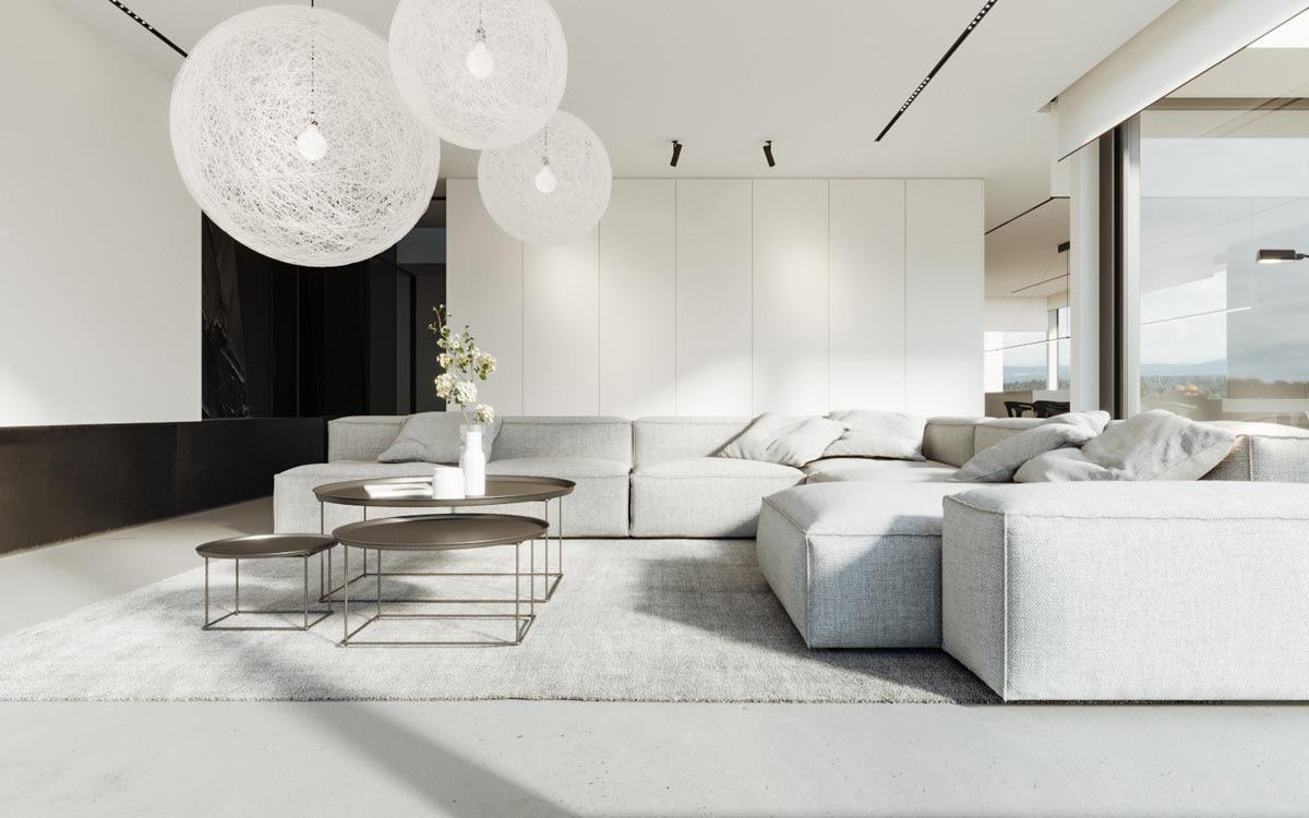Phong cách tối giản được lựa chọn nhiều khi thiết kế nội thất nhà phố