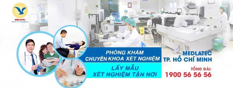 Phòng khám chuyên khoa xét nghiệm và chẩn đoán hình ảnh Medlatec TPHCM