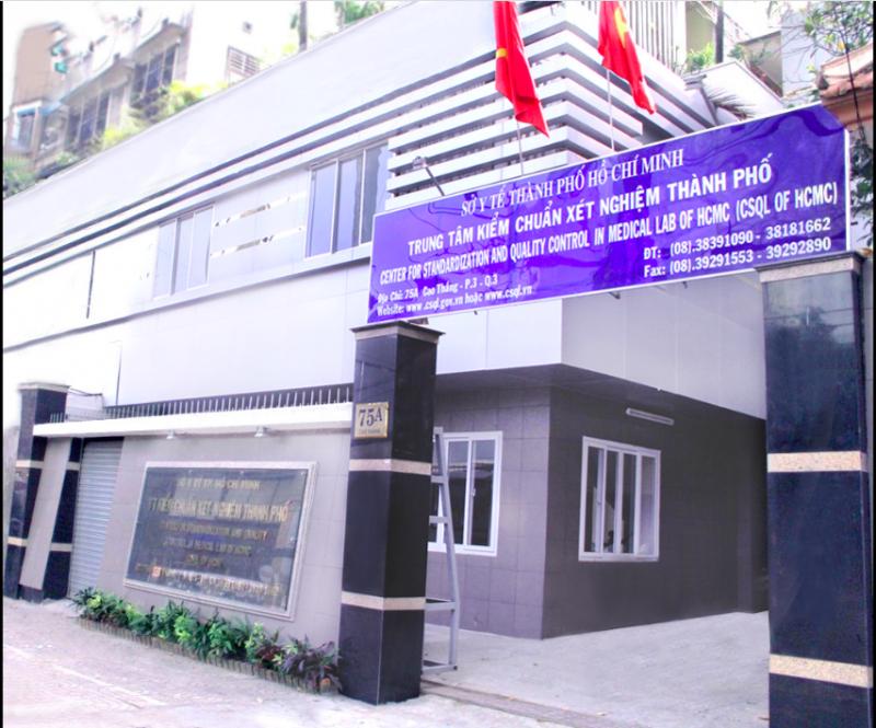 Trung tâm Kiểm chuẩn Xét nghiệm thành phố Hồ Chí Minh