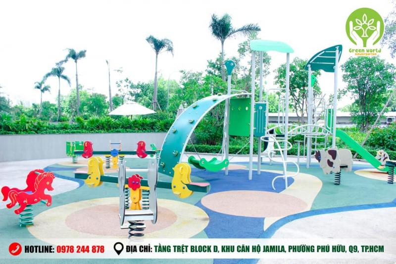 Trường mầm non Thế Giới Xanh - Green World Jamila