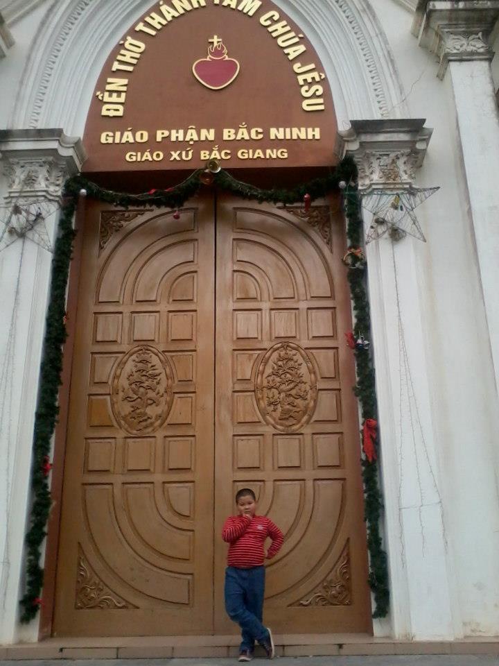 Đền Thánh Tâm - Nhà thờ Giáo xứ Bắc Giang