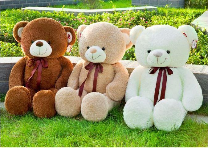 Gấu bông – Món quà dành cho cô nàng mềm yếu