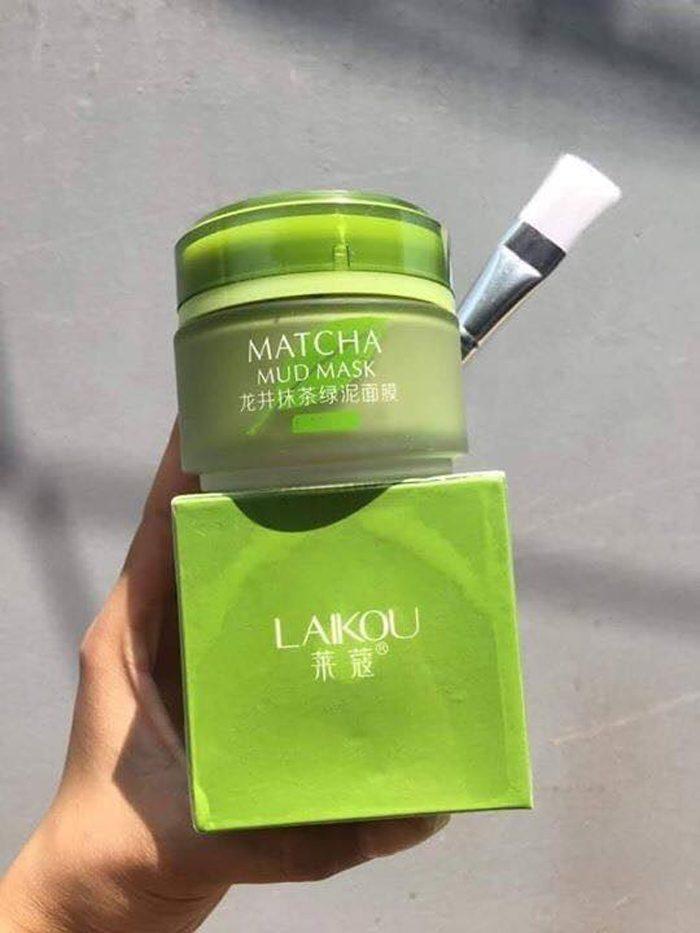 Mặt nạ trà xanh Matcha Laikou Mud Mask