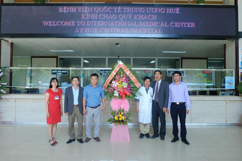 Phòng tiêm chủng Bệnh viện Quốc tế Trung Ương Huế