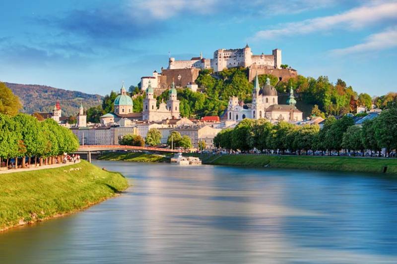 Salzburg, Áo