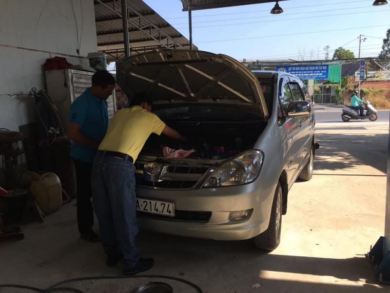 Garage Ô tô Minh Cọt