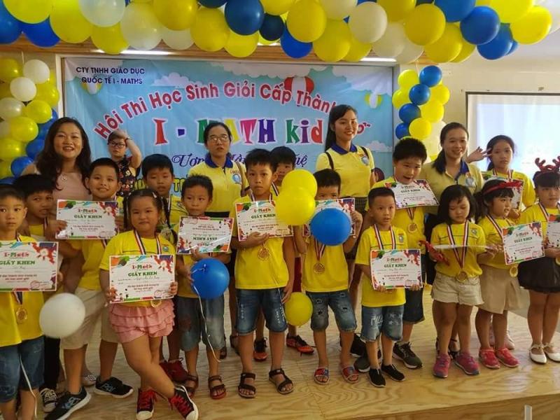 Hệ thống phát triển tư duy toàn diện I-Math Việt Nam