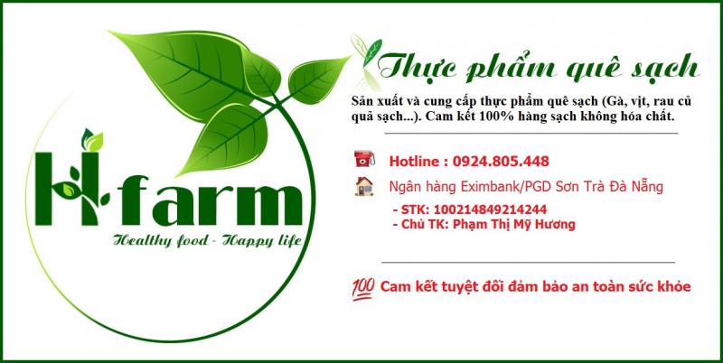 H'farm - THỰC PHẨM SẠCH