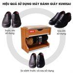 Khả năng làm việc hiệu quả của máy đánh giày Kumisai XDB3
