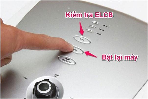 Kiểm tra thiết bị an toàn ELCB trước khi sử dụng