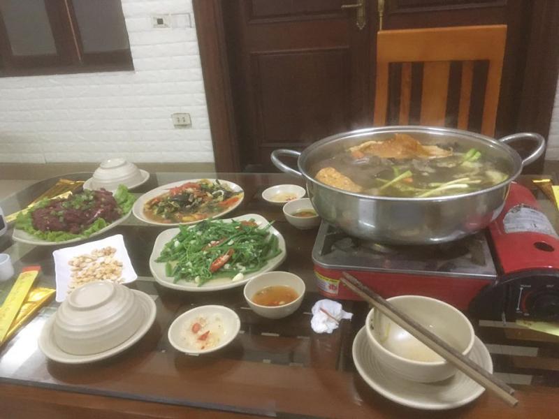 Nhà hàng Hùng Còi Thịt trâu 36 món Quốc Oai