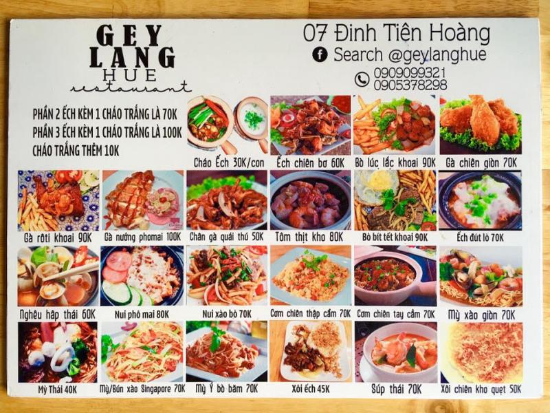 Quán ăn Geylang Huế