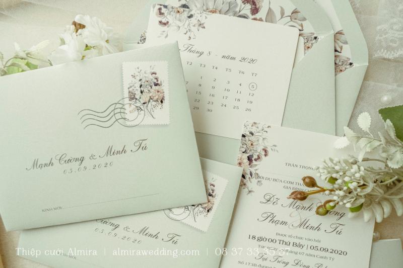 Thiệp cưới Almira