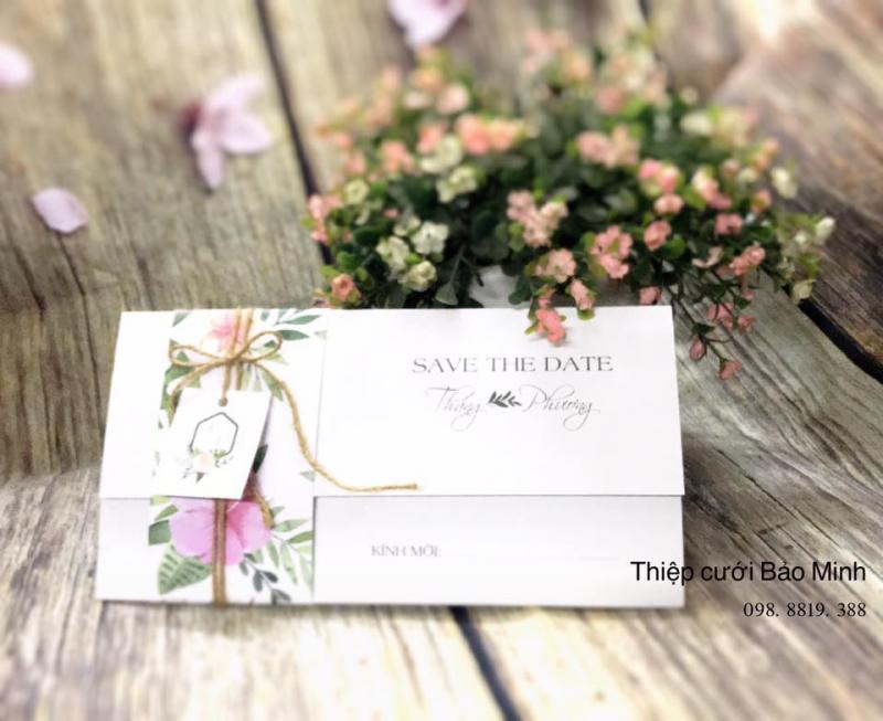 Thiệp cưới Bảo Minh