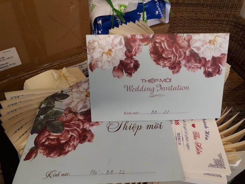 Thiệp cưới Việt