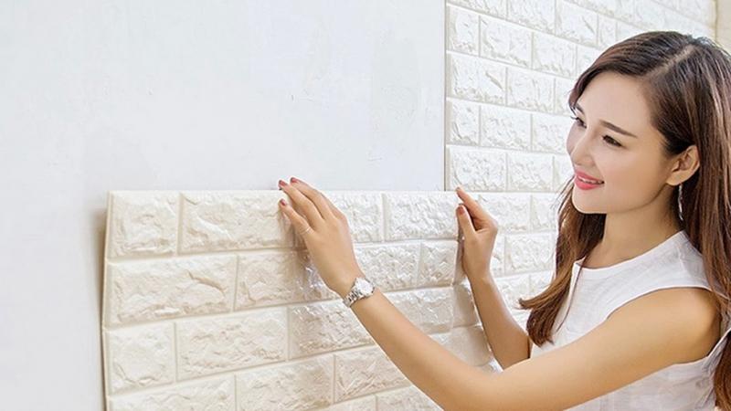 Xốp dán tường Thành Đạt