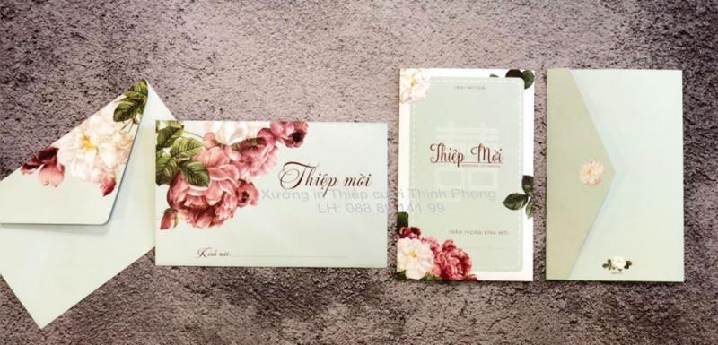 Xưởng in thiếp cưới Thịnh Phong