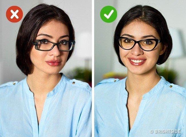Cách chọn gọng kính cận thích hợp khuôn mặt vuông