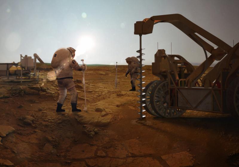 Có thể đi lại trên Sao Hoả giống như trên Trái Đất  không?