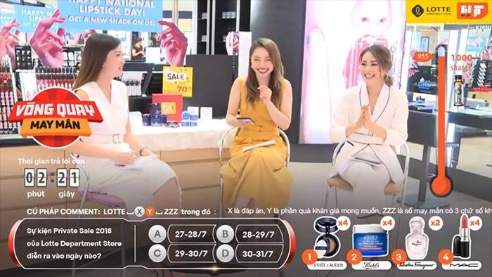 Livestream tương tác