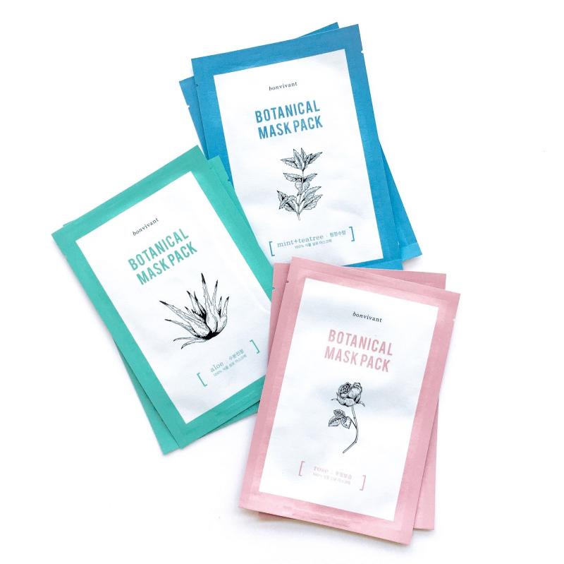 Mặt nạ giấy Bonvivant Botanical Pure Mask Pack