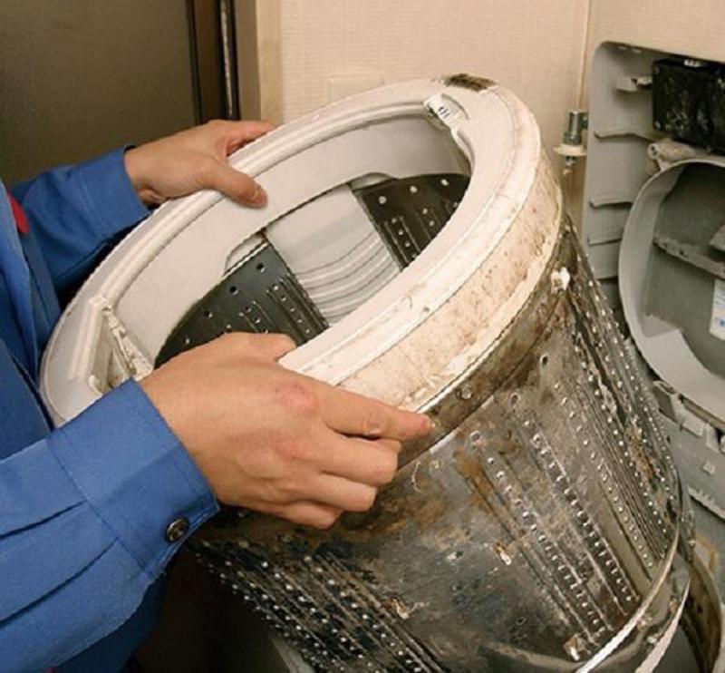 Máy giặt là món đồ nội thất trong nhà không sạch chút nào