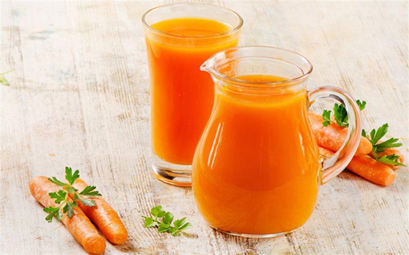 Nước ép cà rốt, cam