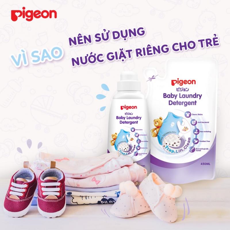 Nước giặt quần áo trẻ em Pigeon