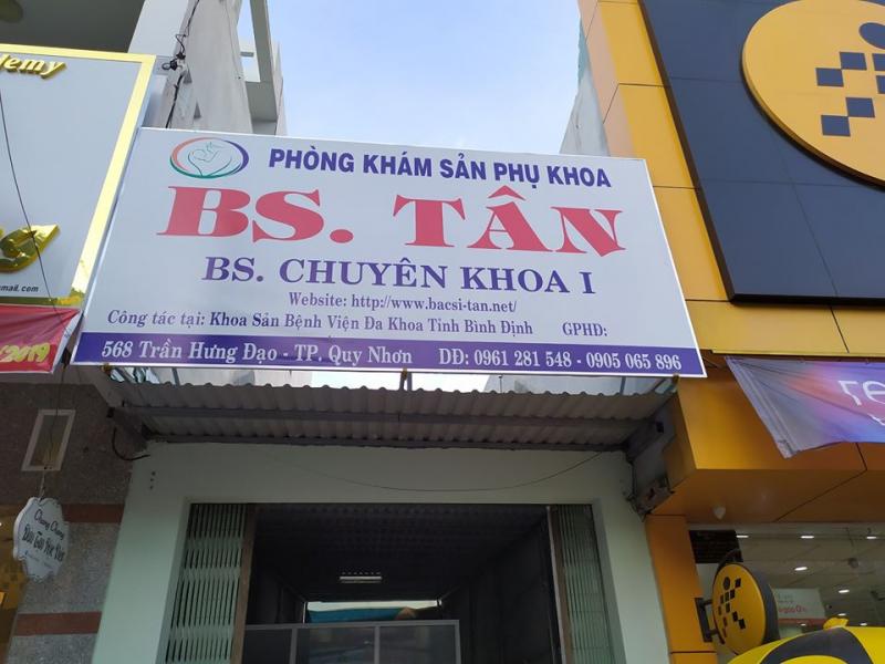 Phòng Khám Sản Phụ Khoa ( BS Tân)