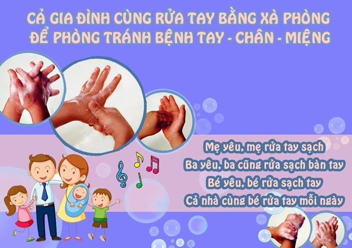 Rửa tay bằng xà phòng diệt khuẩn là cách phòng bệnh solo giản nhưng vô cùng hiệu quả