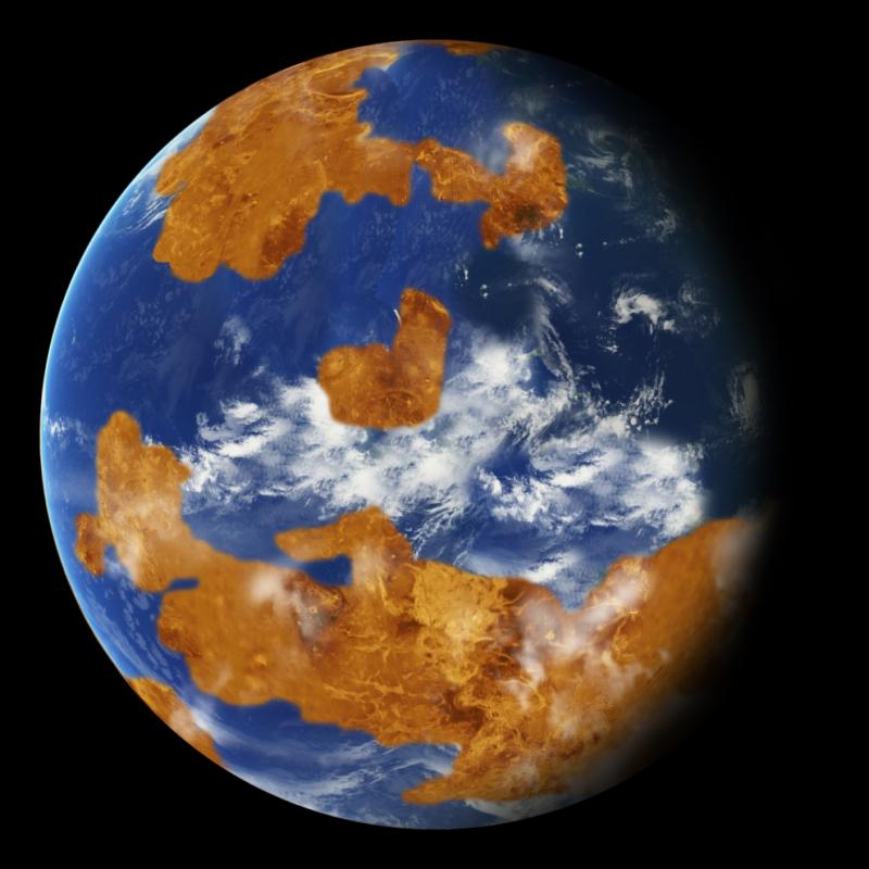 Trên Sao Kim có núi lửa không?