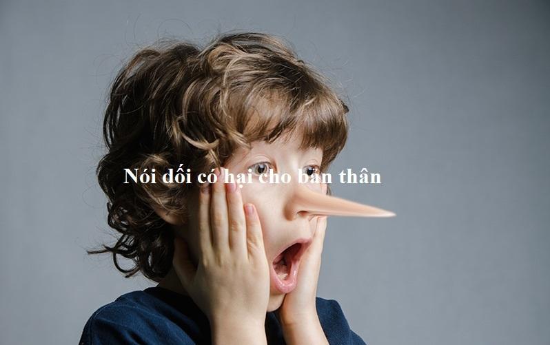 Bài văn chứng minh rằng nói dối có hại cho bản thân số 7