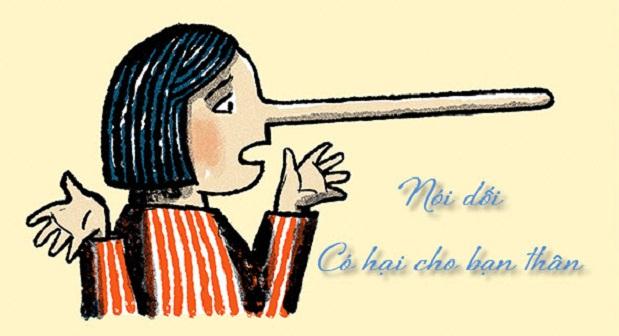 Bài văn chứng minh rằng nói dối có hại cho bản thân số 9