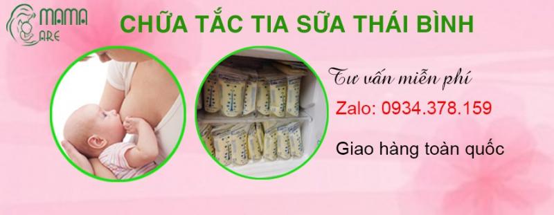 Chữa Tắc Tia Sữa Thái Bình - Mama Care
