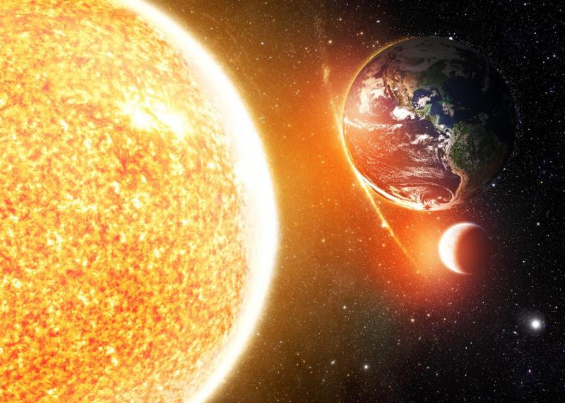 Mặt Trời cũng là nguồn cảm hứng nghệ thuật phải không?