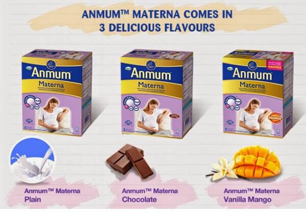 Sữa bà bầu Anmum Materna