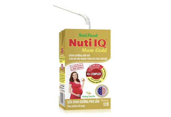 Sữa dinh dưỡng pha sẵn Nuti IQ Mum Gold