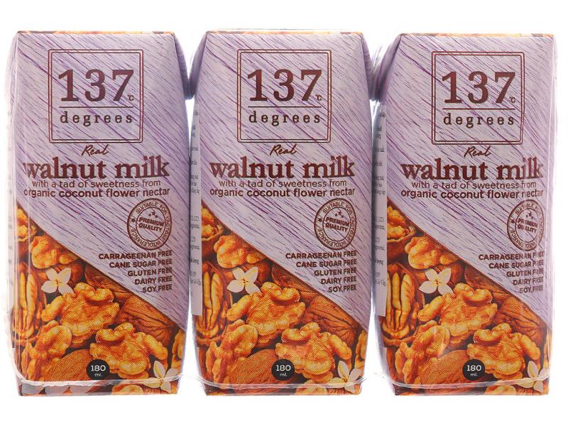 Sữa hạt óc chó 137 Degrees