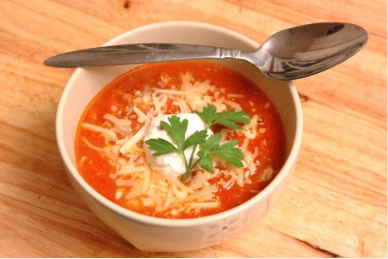 Súp bánh mì rau củ kiểu Ý (10 phút)