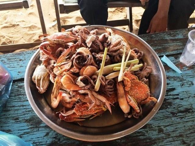 Thiên đường hải sản Long Hải - Vũng Tàu