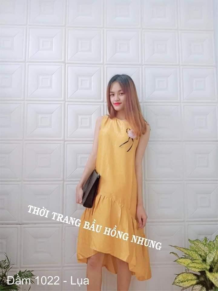 Thời trang bầu Hồng Nhung