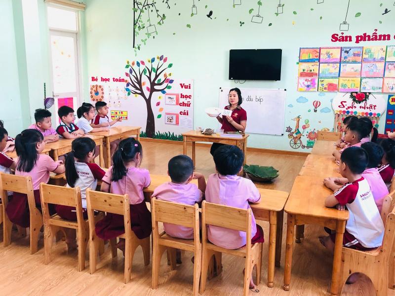 Trường mầm non Sài Gòn Academy