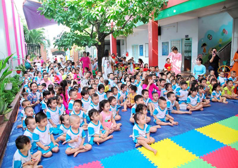 Trường mầm non Sơn Ca